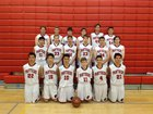 Burlingame Panthers Boys JV Basketball Winter 17-18 team photo.