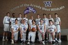 Arvada West Wildcats Boys JV Basketball Winter 17-18 team photo.
