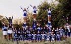 Lovington Wildcats Co-ed Varsity Cheer Winter 17-18 team photo.