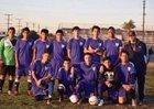 Leuzinger Olympians Boys JV Soccer Winter 17-18 team photo.