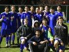 Wood Wildcats Boys JV Soccer Winter 17-18 team photo.