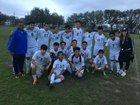 Austin Mustangs Boys JV Soccer Winter 17-18 team photo.