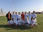 Coalinga Horned Toads Boys JV Soccer Winter 17-18 team photo.