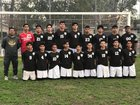 Kennedy Cougars Boys JV Soccer Winter 17-18 team photo.