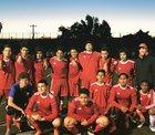 San Leandro Pirates Boys JV Soccer Winter 17-18 team photo.