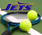 Enka Jets Boys Varsity Tennis Spring 16-17 team photo.