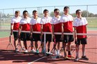 Roswell Coyotes Boys Varsity Tennis Spring 16-17 team photo.