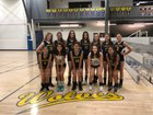 Western Sierra Collegiate Academy Wolves Girls JV Volleyball Fall 18-19 team photo.