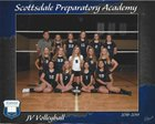 Scottsdale Preparatory Academy Spartans Girls JV Volleyball Fall 18-19 team photo.