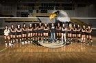 Olympian Eagles Girls JV Volleyball Fall 18-19 team photo.