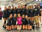 Dakota Cougars Girls JV Volleyball Fall 18-19 team photo.