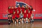 Lake Brantley Patriots Girls JV Volleyball Fall 18-19 team photo.