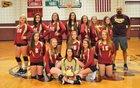 South Stokes Sauras Girls JV Volleyball Fall 18-19 team photo.