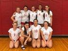 Waverly Wolverines Girls JV Volleyball Fall 18-19 team photo.