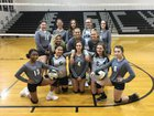 Granville Central Panthers Girls JV Volleyball Fall 18-19 team photo.