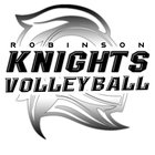 Robinson Knights Girls JV Volleyball Fall 18-19 team photo.