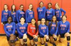 Pascagoula Panthers Girls JV Volleyball Fall 18-19 team photo.