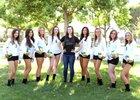 Ontario Christian Knights Girls JV Volleyball Fall 18-19 team photo.