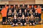 Elizabethton Fighting Cyclones Girls JV Volleyball Fall 18-19 team photo.
