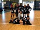 High Tech NC Raptor Girls JV Volleyball Fall 18-19 team photo.