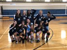 Gaston Day Spartans Girls JV Volleyball Fall 18-19 team photo.