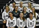 Pine Crest Panthers Girls JV Volleyball Fall 18-19 team photo.