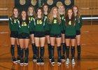 Lynden Lions Girls JV Volleyball Fall 18-19 team photo.