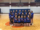 Madison Central Jaguars Girls JV Volleyball Fall 18-19 team photo.