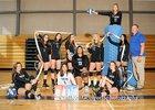 East Mountain Timberwolves Girls JV Volleyball Fall 18-19 team photo.