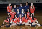 La Salle Lancers Girls JV Volleyball Fall 18-19 team photo.