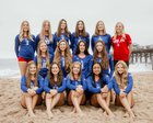Los Alamitos Griffins Girls JV Volleyball Fall 18-19 team photo.