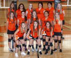Fort Sumner Foxes/Vixens Girls JV Volleyball Fall 18-19 team photo.