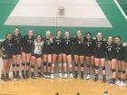 Pitman Pride Girls JV Volleyball Fall 18-19 team photo.