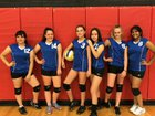 Cottonwood Classical Prep Coyotes Girls JV Volleyball Fall 18-19 team photo.