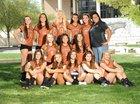 Eldorado Eagles Girls JV Volleyball Fall 18-19 team photo.