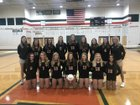 East Lincoln Mustangs Girls JV Volleyball Fall 18-19 team photo.