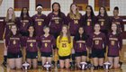 Middleton Tigers Girls JV Volleyball Fall 18-19 team photo.