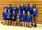 Westlake Warriors Girls JV Volleyball Fall 18-19 team photo.