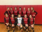 Cutter-Morning Star Eagles Girls JV Volleyball Fall 18-19 team photo.