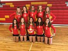 Clearwater Central Catholic Marauders Girls JV Volleyball Fall 18-19 team photo.