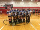Copperas Cove Bulldawgs Girls JV Volleyball Fall 18-19 team photo.