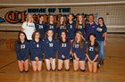 Leland Chargers Girls JV Volleyball Fall 18-19 team photo.