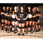 Evergreen Plainsmen Girls JV Volleyball Fall 18-19 team photo.
