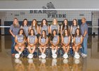 La Cueva Bears Girls JV Volleyball Fall 18-19 team photo.