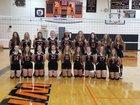 Greenfield/Northwestern Tigers Girls JV Volleyball Fall 18-19 team photo.