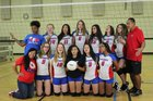 Pinellas Park Patriots Girls JV Volleyball Fall 18-19 team photo.
