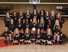 Jonesboro Hurricane Girls JV Volleyball Fall 18-19 team photo.