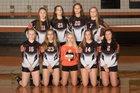 Rosman Tigers Girls JV Volleyball Fall 18-19 team photo.