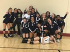 Southlands Christian Eagles Girls JV Volleyball Fall 18-19 team photo.