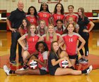 Clearwater Tornadoes Girls JV Volleyball Fall 18-19 team photo.